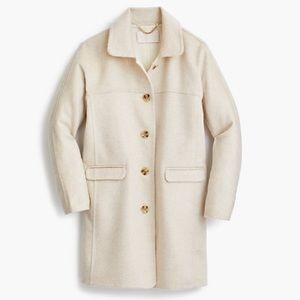 J. Crew Collection Topcoat in Double-Face Cashmere
